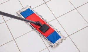 How to Clean White Tile Floors
