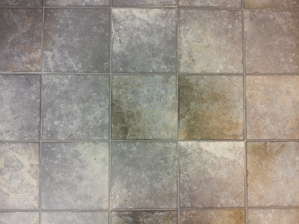 How to clean old tile floors
