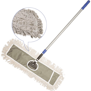"JINCLEAN 24"" Industrial Class Cotton Mops for Vinyl Plank Floors"