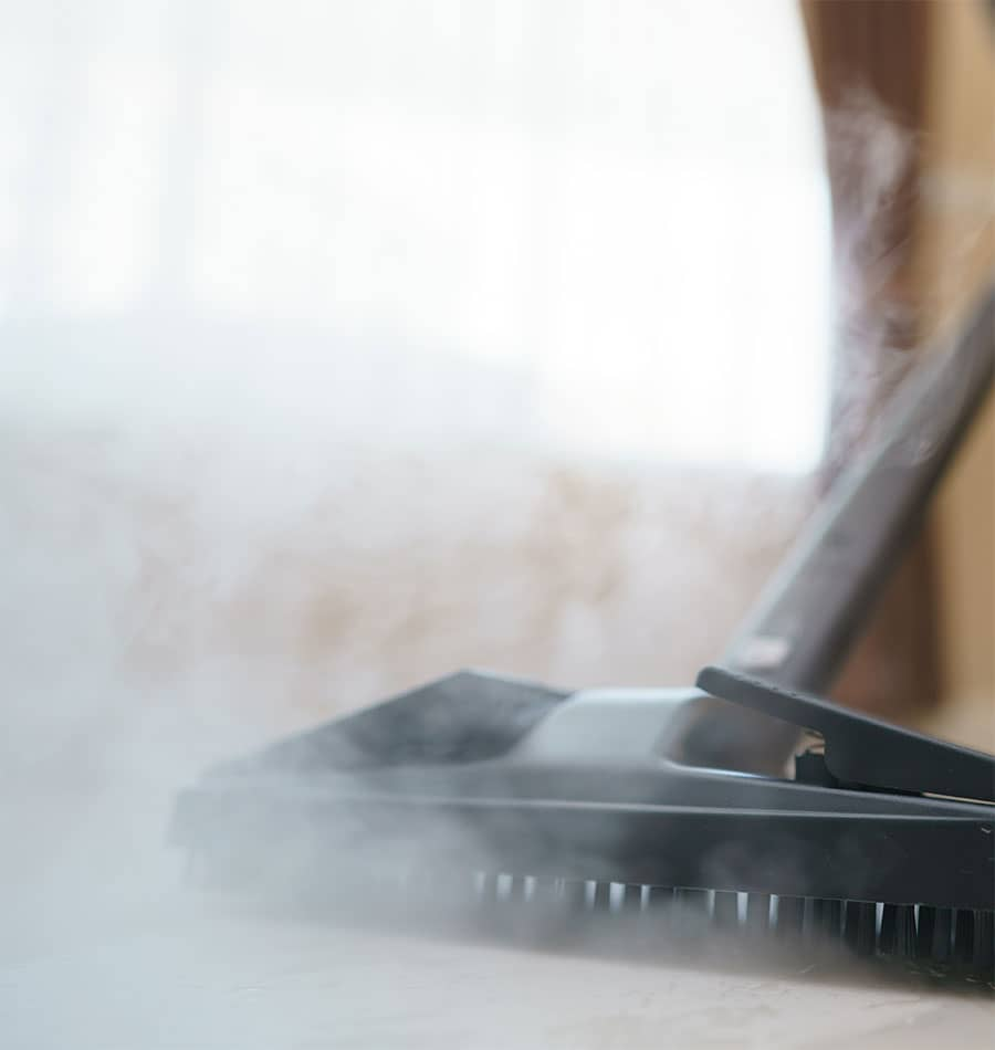 Benefits of using a steam cleaner on tile and grout