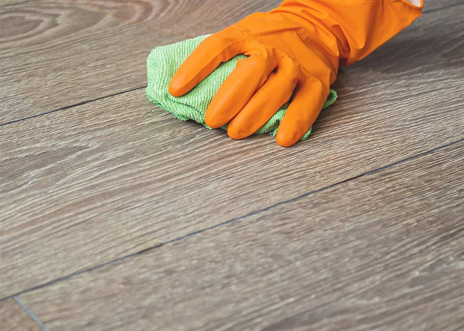 How to take care of a vinyl plank floor?