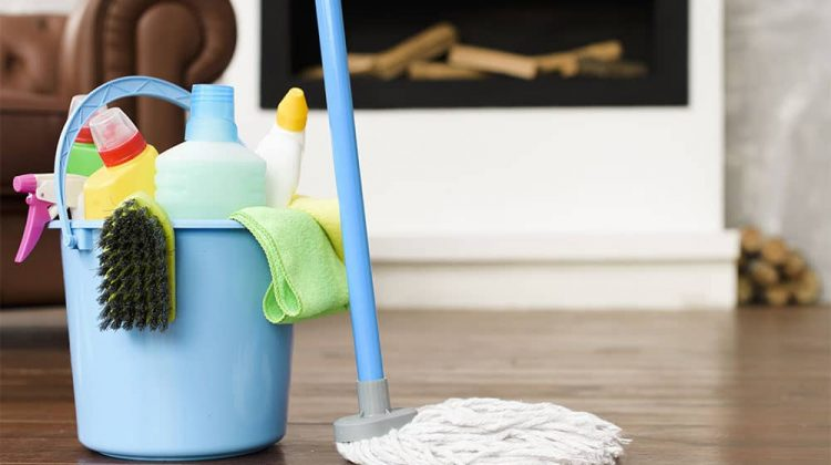 How to Clean Vinyl Floors with Ground-In Dirt