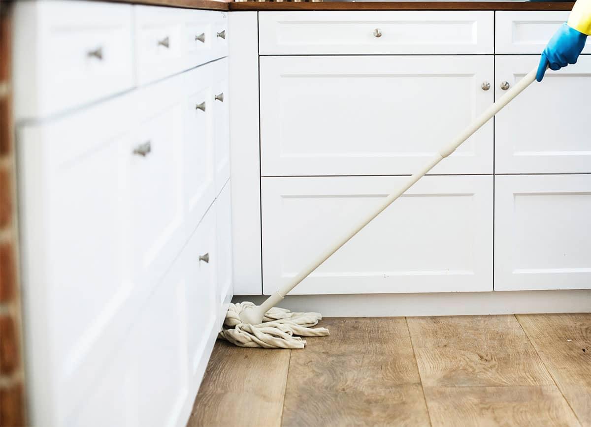 How to Clean Vinyl Tile Floors