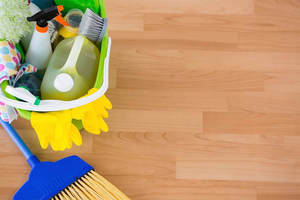 how to clean hardwood floors without machine
