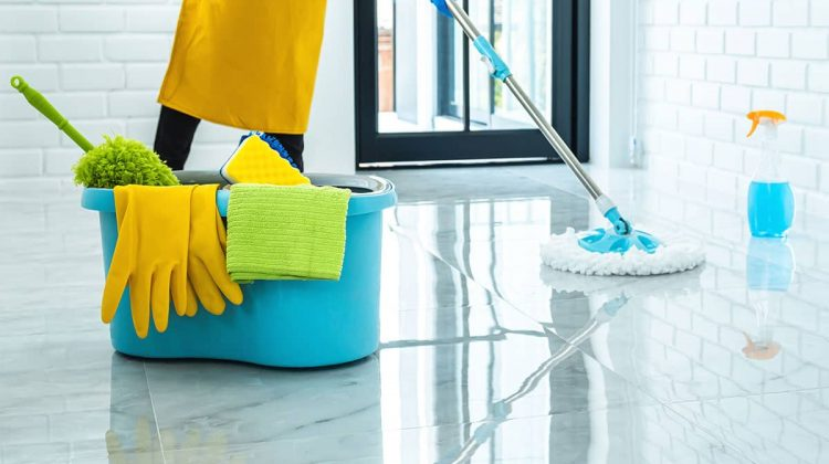 How to Remove Sticky Residue from Tile Floors
