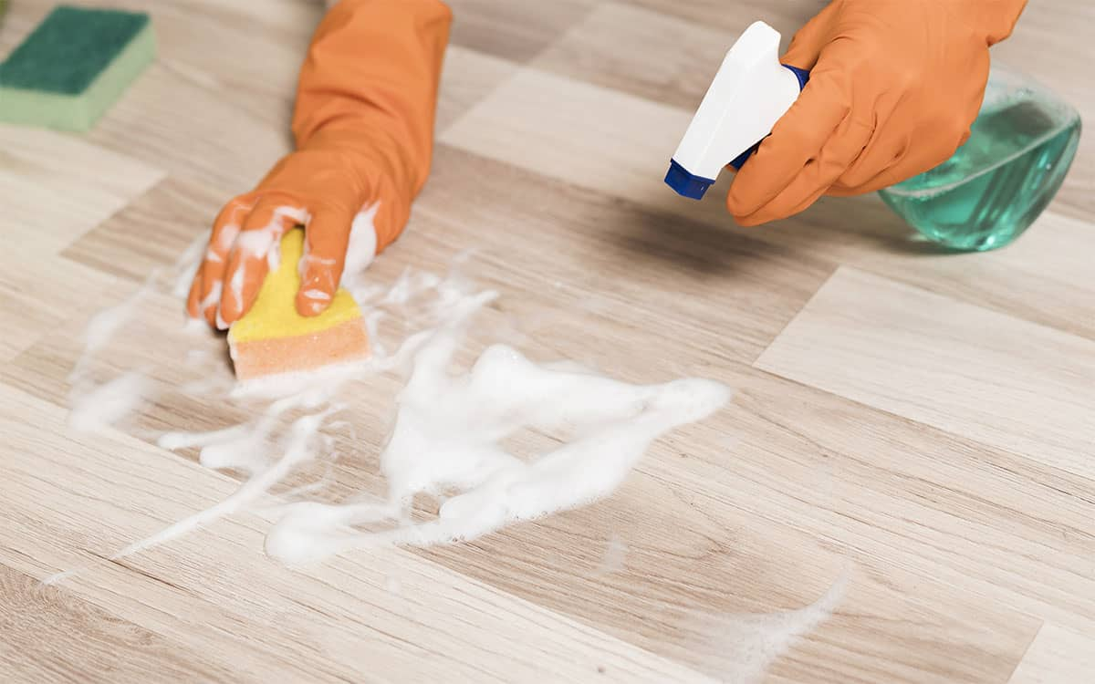 How to Remove Sticky Residue from Vinyl Flooring